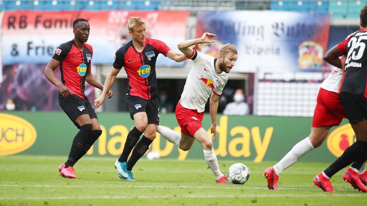 Hertha BSC lieferte RB Leipzig einen intensiven Kampf