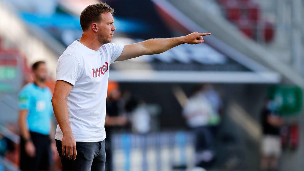 Julian Nagelsmann und RB Leipzig stehen vor dem wichtigsten Spiel der Klubgeschichte