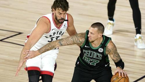 Boston Celtics schlagen in den NBA-Playoffs die Toronto Raptors