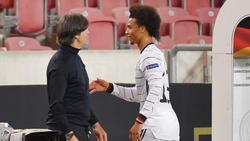 Löw und Sané freuen sich auf das Spiel gegen die Schweiz