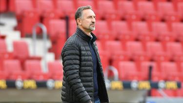 Der Mainzer Trainer Achim Beierlorzer erlebt turbulente Tage