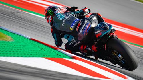 Sieg in der MotoGP für Fabio Quartararo