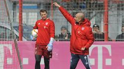 Arbeiteten drei Jahre lang beim FC Bayern zusammen: Manuel Neuer und Pep Guardiola