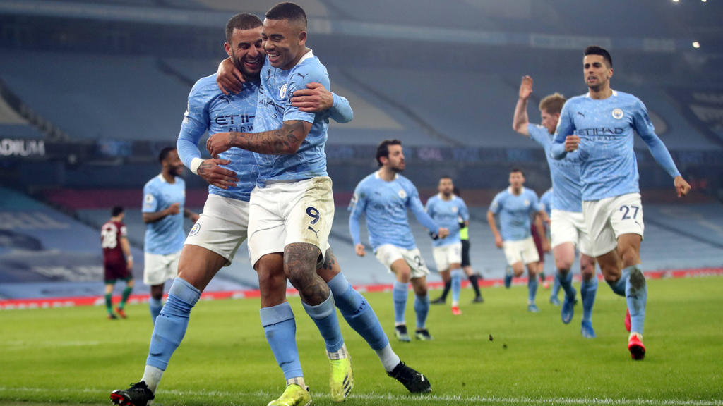 Premier League: Manchester City setzt Fabelserie fort