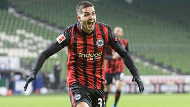 Im Trikot von Eintracht Frankfurt hat sich André Silva ins Visier der Topklubs geschossen