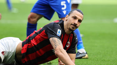 Zlatan Ibrahimovic konnte gegen Sampdoria kein Tor erzielen