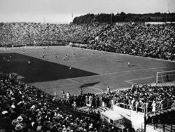 Im Finale der WM 1934 trifft Gastgeber Italien im Nationalstadion von Rom auf die Tschechoslowakei
