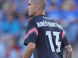 Rubén Martínez con la camiseta del Levante. (Foto: Getty)