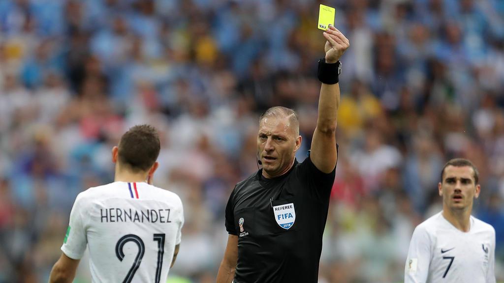 Der argentinische Schiedsrichter Pitana hat ein Spiel der Franzosen bereits gepfiffen
