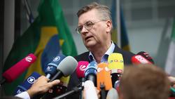 DFB-Präsident Reinhard Grindel setzt auf einen Neuanfang