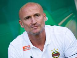 Goran Djuricin hängt bei Rapid in den Seilen