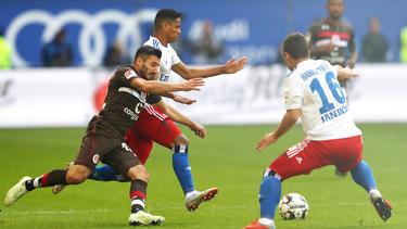Keine Tore im Derby: Der HSV und der FC St. Pauli trennen sich unentschieden