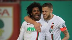 Caiuby schoss die Augsburger im DFB-Pokal in die nächste Runde
