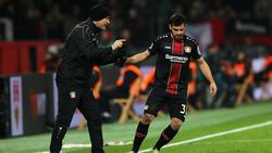 Kevin Volland avancierte zum Matchwinner für Bayer Leverkusen