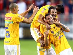 Tigres lidera la Liga MX con 13 unidades en la tabla. (Foto: Getty)