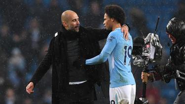 Pep Guardiola mag es, Leroy Sané zu kritisieren