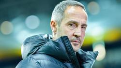 Frankfurt-Trainer Adi Hütter hat mit seinem Team eine aufregende Saison erlebt