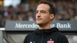 Mit Interimscoach Nico Willig hofft der VfB Stuttgart auf den Klassenerhalt