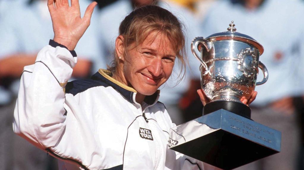 Steffi Graf gewann bei den French Open 1999 ihren letzten Titel