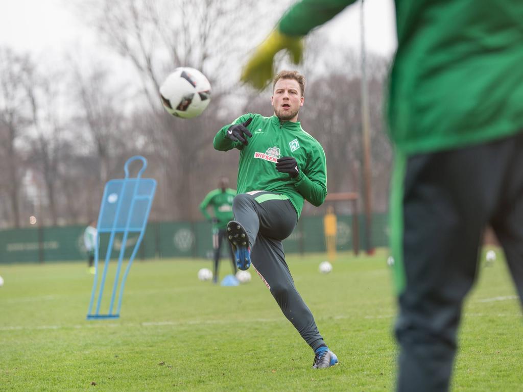 Der Bremer Philipp Bargfrede kann immer noch nicht spielen