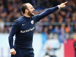 Christian Brand ist nicht mehr Trainer von Hansa Rostock
