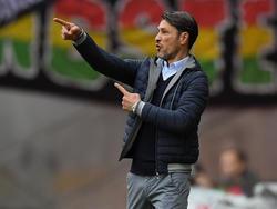 Niko Kovač und seine Frankfurter erfüllten ihre Pflicht im Pokal
