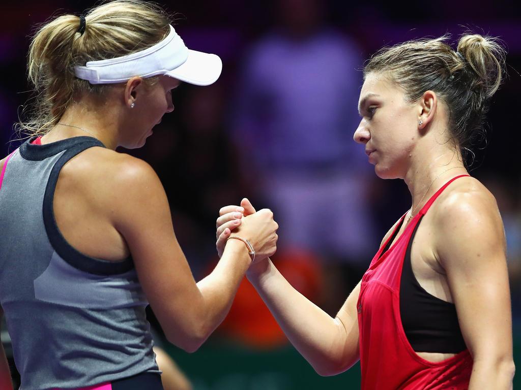 Bestreiten das Finale der Australian Open: Simona Halep und Caroline Wozniacki