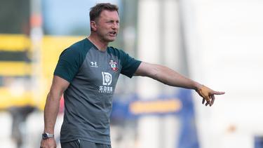 Ralph Hasenhüttl ist Trainer beim FC Southampton