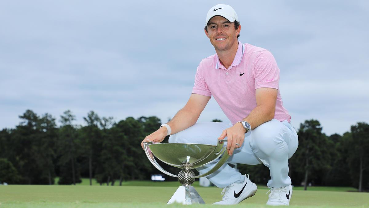 Nach Sieg in Atlanta jetzt Weltranglistenzweiter: Rory McIlroy
