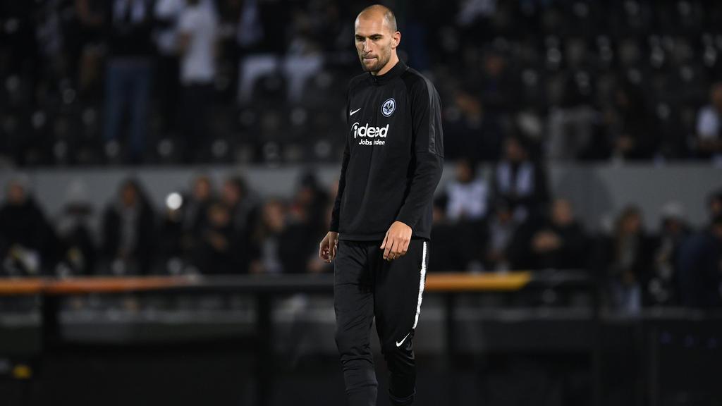Bas Dost spielt seit dem Sommer für Eintracht Frankfurt