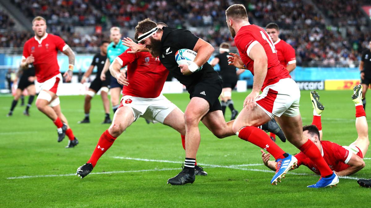 Neuseeland hat sich bei der Rugby-WM die Bronzemedaille gesichert
