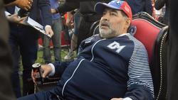 Diego Armando Maradona ist der Präsident von Dinamo Brest