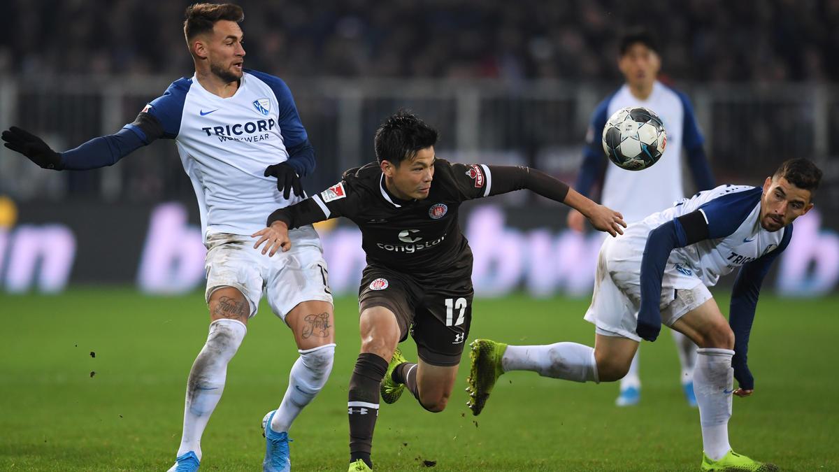 Der FC St. Pauli kam gegen den VfL Bochum nicht über ein 1:1 hinaus