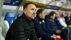 Achim Beierlorzer will gegen Eintracht Frankfurt nachlegen