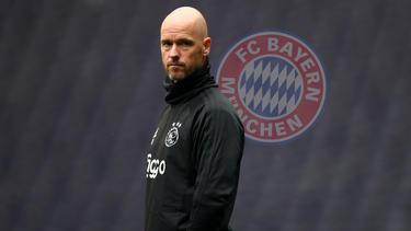 Erik ten Hag gilt als Wunschtrainer des FC Bayern