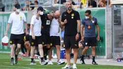 Marco Rose hat beim BVB mit Verletzungssorgen zu kämpfen