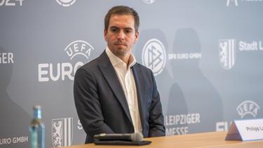 Philipp Lahm äußerte sich auf einer Podiumsdiskussion