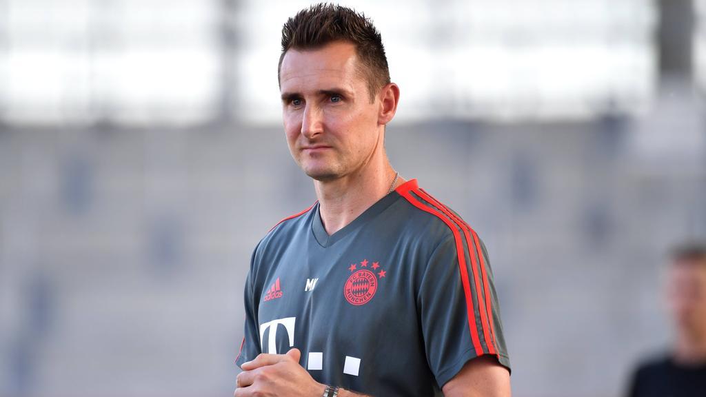 Miroslav Klose sieht auch bei seiner U17 beim FC Bayern Mentalitätsdefizite