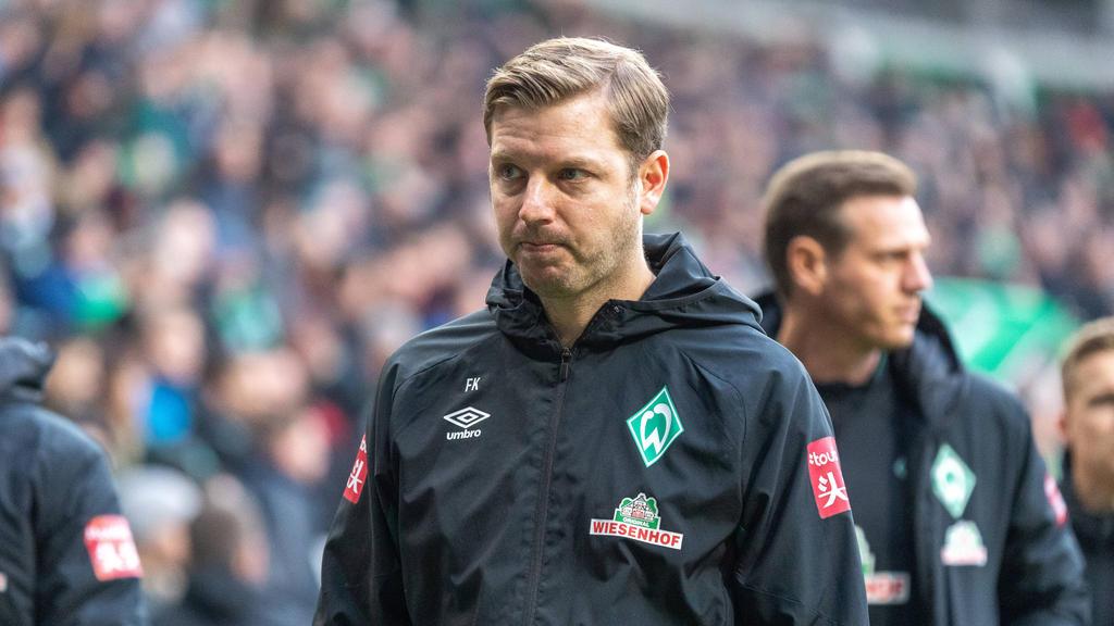 Kämpft mit Werder Bremen gegen den Abstieg: Florian Kohfeldt
