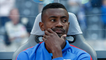Salomon Kalou sitzt bei Hertha BSC in dieser Saison meist auf der Bank