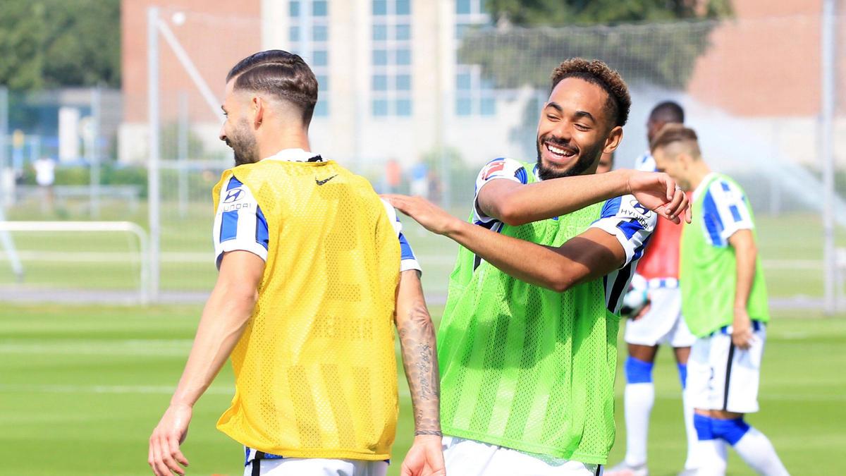 Hertha BSC hat die erste Vorbereitungswoche mit einer Trainingspartie abgeschlossen