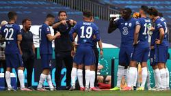 Frank Lampard (M.) will mit seinen Mannen nichts unversucht lassen