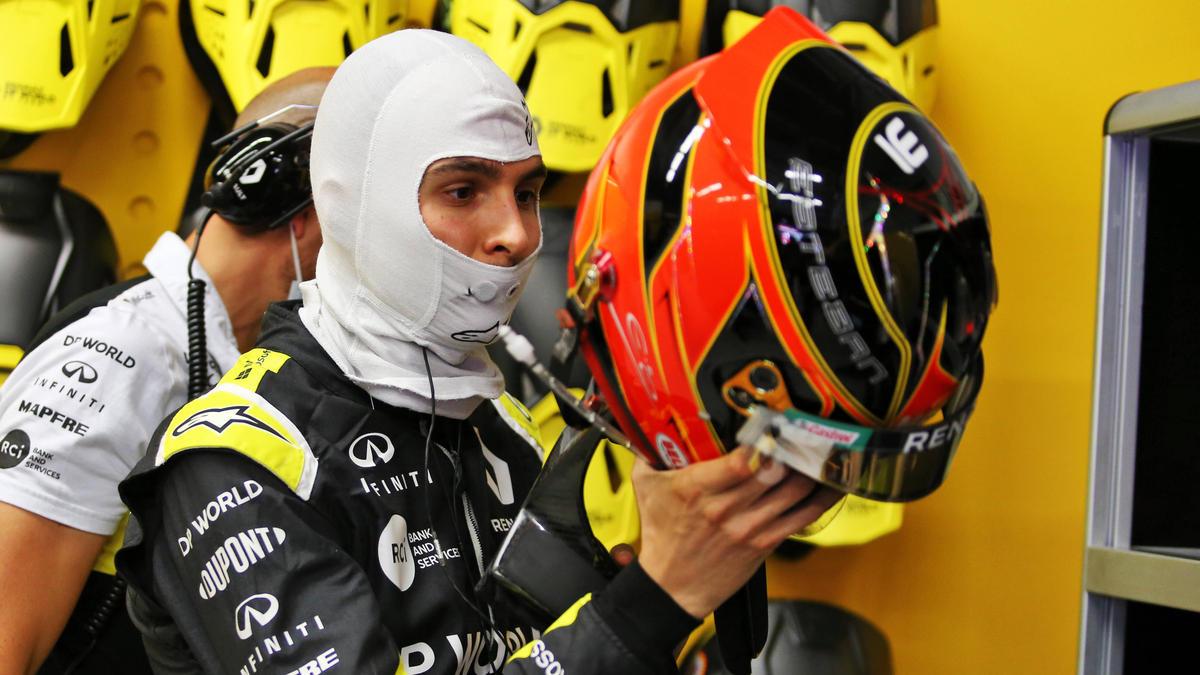 Esteban Ocon hat den Neustart nach der Safety-Car-Phase kommentiert