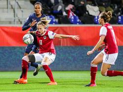 ÖFB-Frauen gegen Frankreich