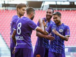 Sieg für Austria Klagenfurt gegen Amstetten