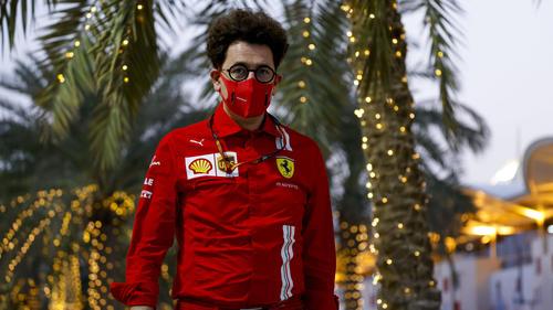Ferrari-Chef Mattia Binotto ist optimistisch