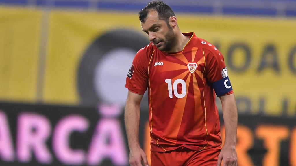Goran Pandev will mit seinem Team gegen Deutschland überraschen