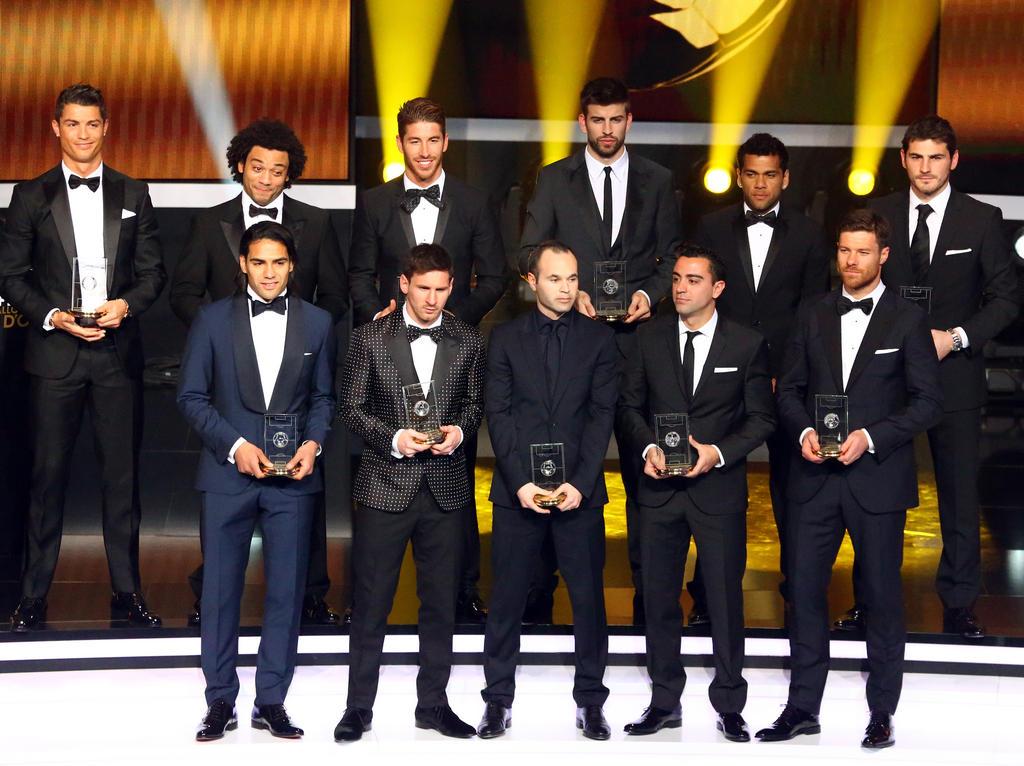 Die Mannschaft des Jahres 2012