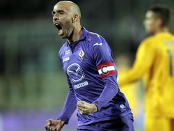 Borja Valero, centrocampista de la Fiorentina. (Foto: Getty)