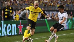 Marius Wolf kann gegen Leipzig wohl spielen